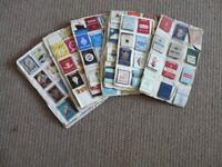 LARGE LOT OF 1950'S/60'S MATCHBOX COVERS