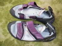 Scarpa ladies' climbing shoes