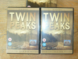 TWIN PEAKS 1 & 2 DEFINITIVE GOLD BOX EDITION