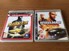 Driver and Wheelman (PS3 Games Bundle)