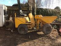 Thwaites 1 ton dumper skip loader spares or repairs