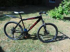 CARRERA MANS MOUNTAIN BIKE