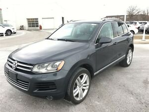 2012 Volkswagen Touareg Loaded AWD TDI, Fully Certified, Clean C