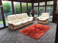Sofa and chair. Stressless!