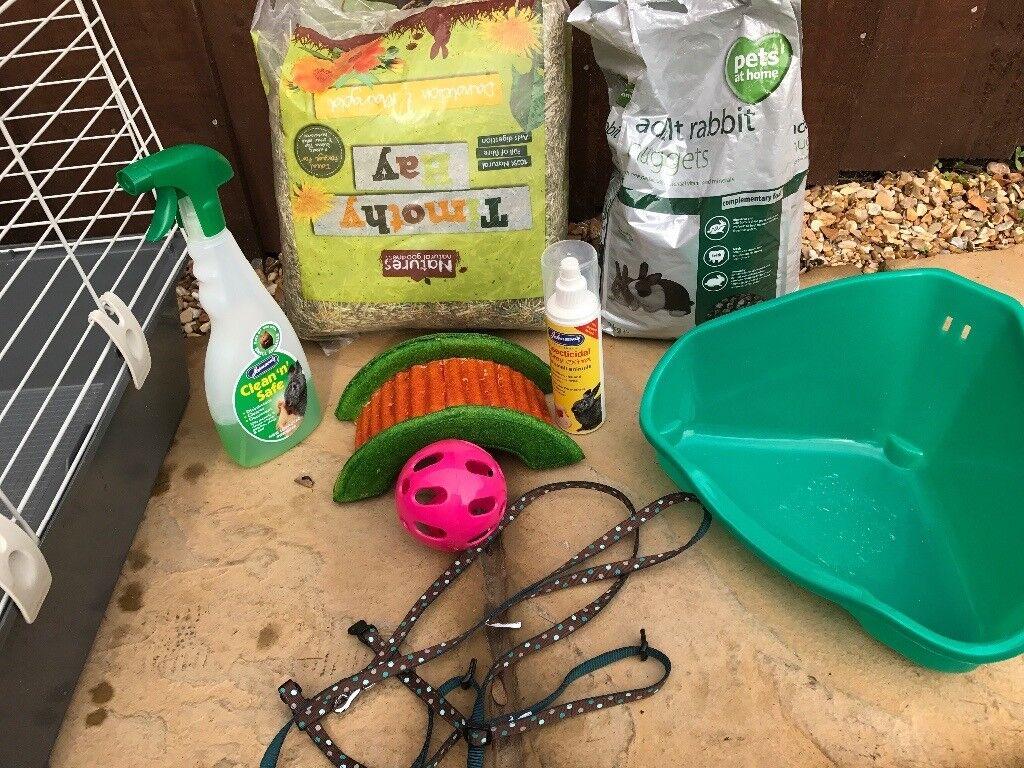 Ferplast Rabbit and Guinea Pig Cage 100 Home Garden Outdoor Indoor Pets
