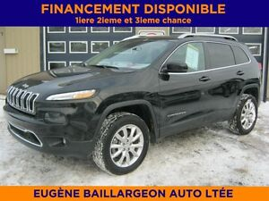 2014 Jeep Cherokee LTD ENSEMBLE TECHNOLOGIQUE, 29 000 KM
