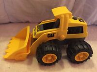 Caterpillar toy digger- like new!