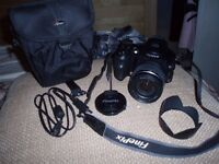 Finepix s6500 fd fujifilm camera and attatchments