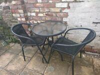 Bistro set - Garden table & chairs