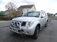 Nissan Pathfinder 7 seats all the bells n whistles sat nav/reversing camera/heated seats etc