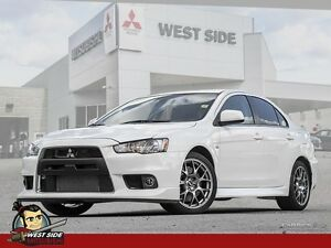2014 Mitsubishi Lancer Evolution MR -Nav  Media System-Satellite