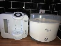 Prep machine and steriliser