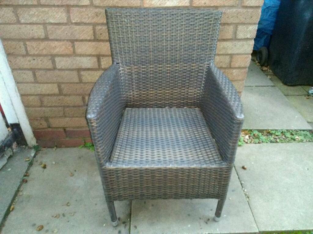 Composite weave chair.