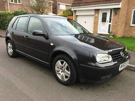 **Volkswagen Golf Match 1.6 - 53 Plate**