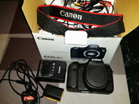 Canon 6D (WG) Camera, body only -very good condition