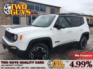 2015 Jeep Renegade TRAILHAWK 4X4 OFF ROAD CAPABLE!