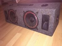 2 IN 1 SPEAKERS FOR SALE £15 NO OFFERS
