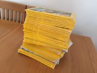38 National Geographic Magazines - From Feb 1973 to Jan 2011