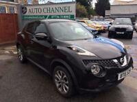 Nissan Juke 1.5 dCi Tekna 5dr (start/stop)£10,295 p/x welcome TOP OF THE RANGE MODEL!!!
