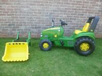 John Deere Rolly Trac Lader toy pedal tractor