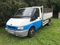 2005 ford transit tipper.