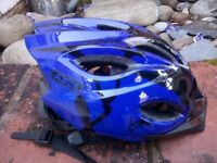 Boys' blue Abus bike helmet with box 48-55cm