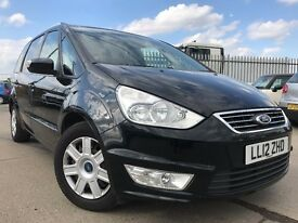 Ford Galaxy 2.0 TDCi Zetec Powershift 5dr Full Service History, Practical 7 Seater, Privacy Glass