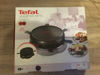 Brand New Tefal jour de fete x6 person ( Raclettee grill)