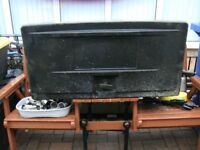 Storage Box Black for Lorry or Pick Up Solid Plastic NO KEY