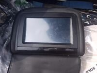 2 Tv s for car head rest