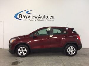 2016 Chevrolet TRAX - 6 SPEED 1.4L A/C CRUISE 15,000 KM!