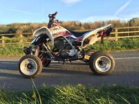 YAMAHA RAPTOR 660 ROAD LEGAL QUAD. LOOKS AND DRIVES AWESOME!