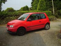 SEAT AROSA 1998 Automatic 1.4 petrol Red 72000miles Mot Nov 2016