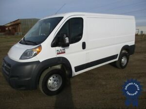 "2018 Ram 1500 ProMaster Low Roof 136"" WB Cargo Van, 3.6L V6 Gas"