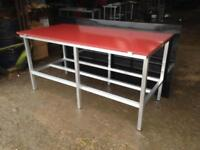 Butchers cutting table