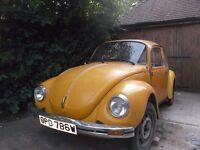 VW Beetle 1303 LHD 1976