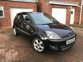 Ford Fiesta Zetec Freedom (Facelift model) 1.4 3 Door Black