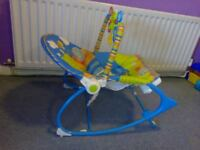 Fisher Price bouncer and jumperoo