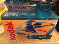 Brand new sealed Kodak sports waterproof disposal camera,