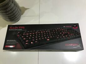 Hyper X alloy FPS keyboard. Cherry MX red