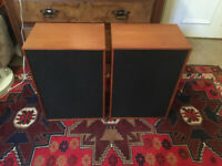 WHARFEDALE MELTON 2 Speakers pair refurbished HiFi warm sound vintage 30 Watt