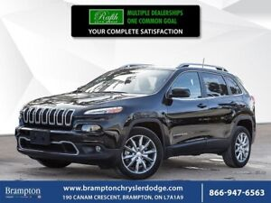 2018 Jeep Cherokee LIMITED   FWD   EX CHRYSLER COMPANY DEMO