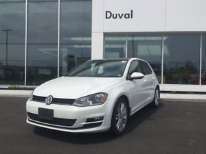 2015 Volkswagen Golf Tdi Highline - DIESEL SUNROOF LEATHER SEATS