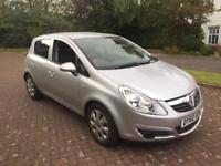 Vauxhall corsa 1.2 exclusive 60plate only 48k service history 5 door