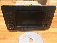 Mercedes ML 280 Radio, CD player, SATNAV (2008/9)