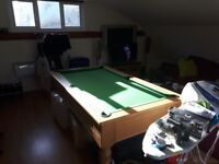 For sale pool table excellent condition