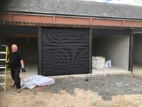 Secure garage to rent in compound