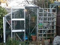 Glass Greenhouse 8x6ft