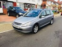 Peugeot 307 SW 1.6 16v S 5dr (a/c, Automatic, low mile, PANORAMIC ROOF