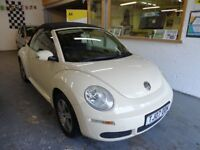 2007 VOLKSWAGEN BEETLE 1.4 LUNA CABRIOLET 2DOOR, SERVICE HISTORY, HPI CLEAR, DRIVES LIKE NEW